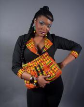 Gallant Ankara Dress