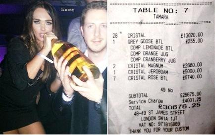 Tamara-Ecclestone-blows-30000-on-nightclub