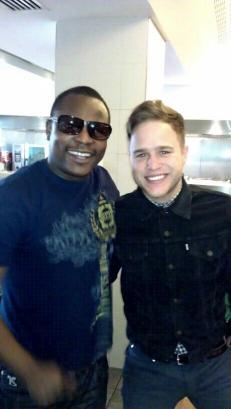 kasaskie with Olly Murs