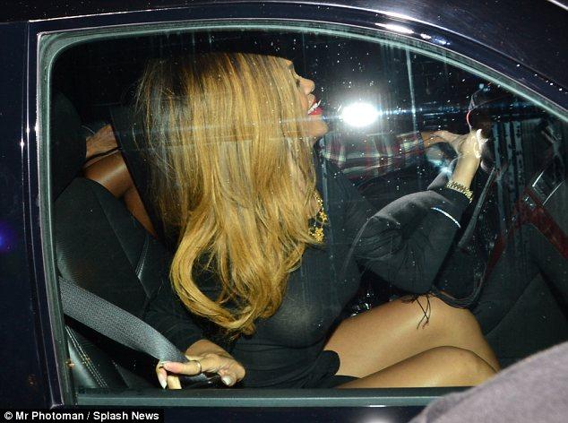 Rihanna See through photos