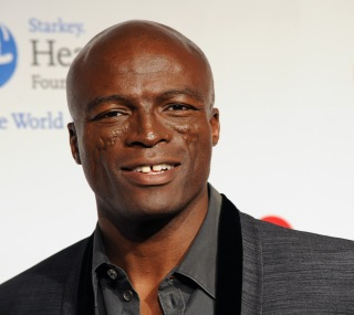 Seal arrives at the MusiCares Person of the Year tribute in Los Angeles