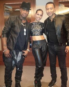 Alicia, John and Neyo