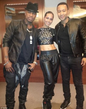 Alicia, John and Neyo