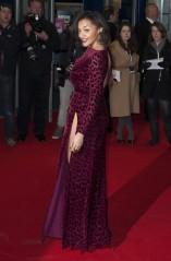Amal Fashanu on the red carpet