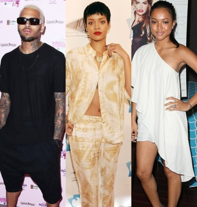 Cheris, Rihanna and karrueche's love triangle