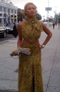 Goldie in LA