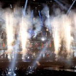 Muse performing the opening ceremony