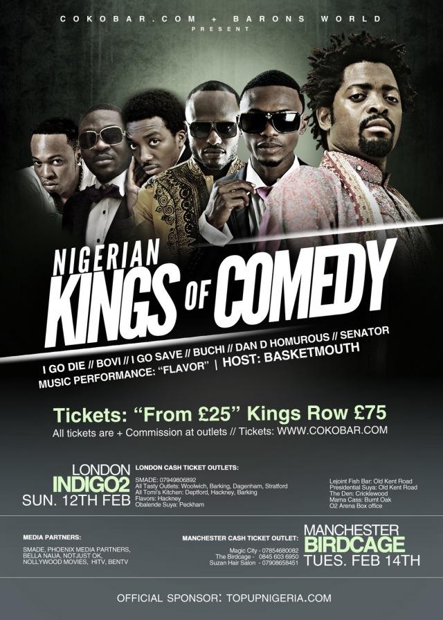 Nigerian Kings of Comedy