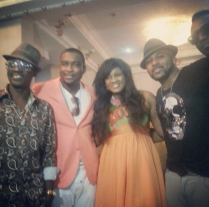 Omosexy with some actors and musicians