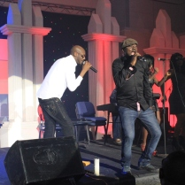 Money Is good...Black face and 2face during a performance