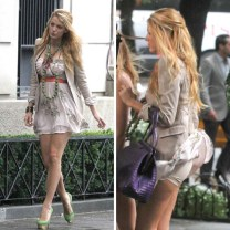 Blake Lively reveals the secret to her tight ass....lol