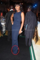 Dakore: what's with the over sized dress madam?