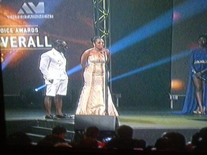 Jim Iyke: Worst Dressed Male Nominee, WTF is Jim Iyke wearing on that stage?