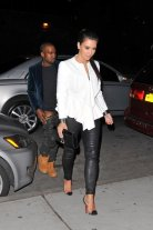 Kanye was caught pants down *shame*