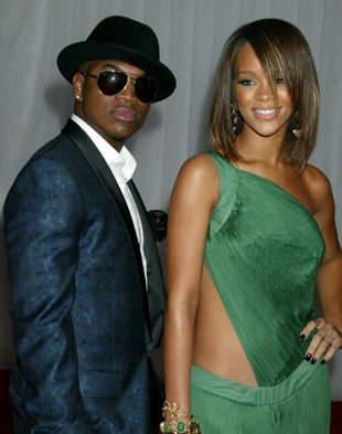Neyo and Rihanna