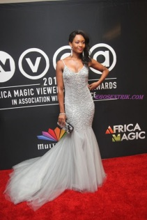 Osas Ighadoro:Best Dressed Female Nominee