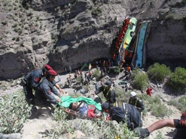 Peru Fatal Bus Crash