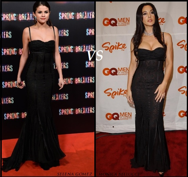 Selena Gomez or Monica Bellucci