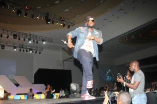 Timaya Performing on stage
