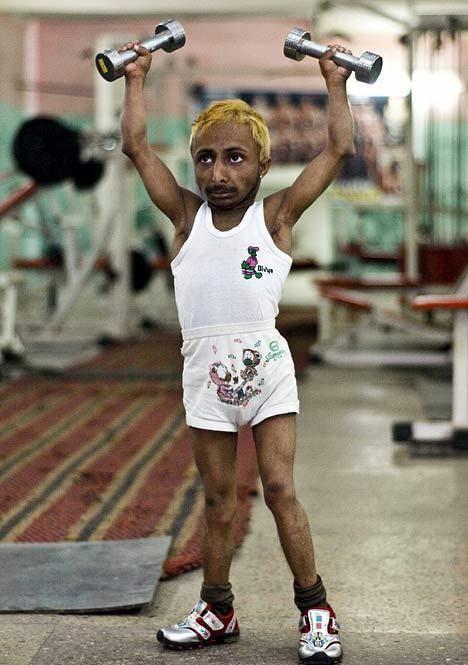 world's smallest smallest bodybuilder