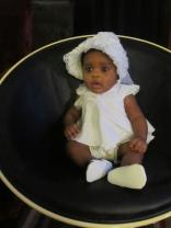 My christening outfit