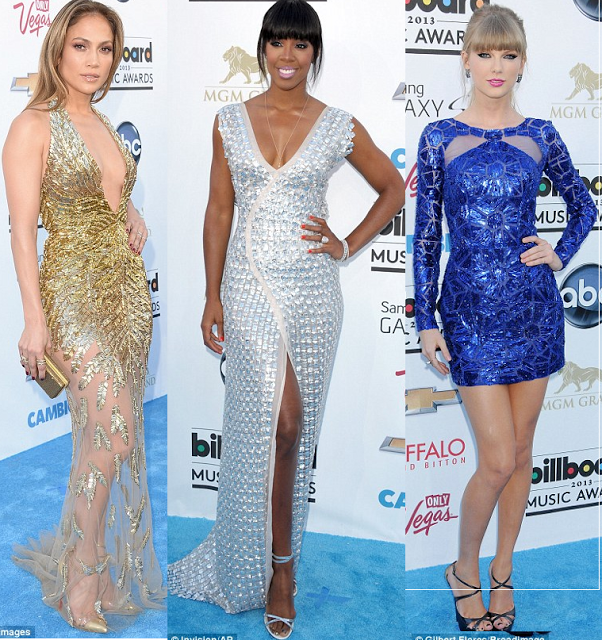 Jennifer Lopez, Kelly Rowland and Taylor Swift