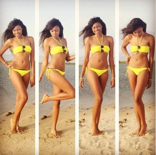 Yvonne-in-yellow-bikini