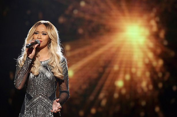 Tamera-Foster-X-Factor-live-show