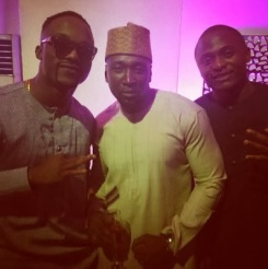 From left Iyanya