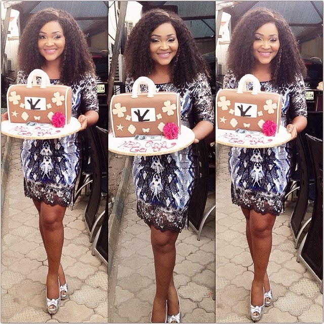 Actress Mercy Aigbe cake