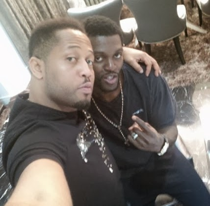 Adebayor and Mike Ezuruonye