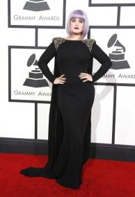 Kelly Osbourne in Badgley Mischka