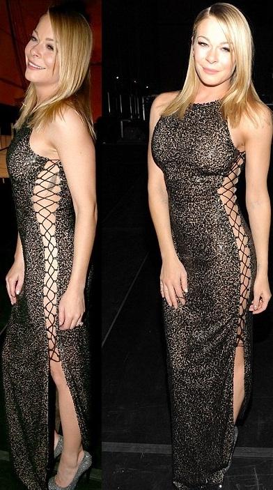 LeAnn Rimes Semi Nude outfit