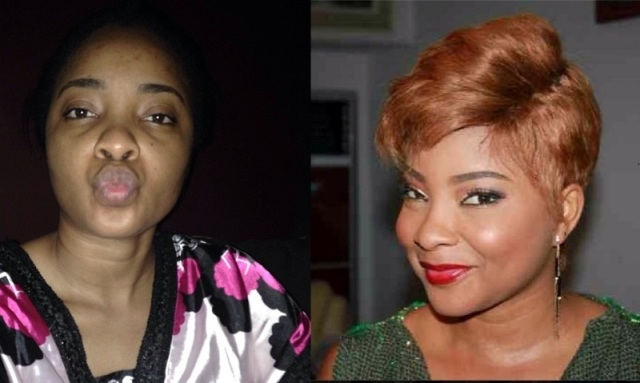 Linda Ejiofor No Make Up VS Make Up