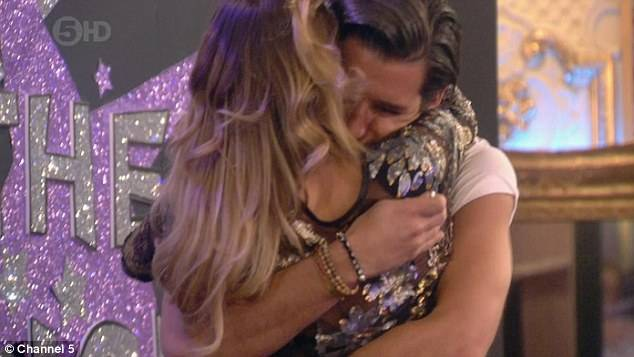 Ollie and Sam in Celebrity big brother 2014
