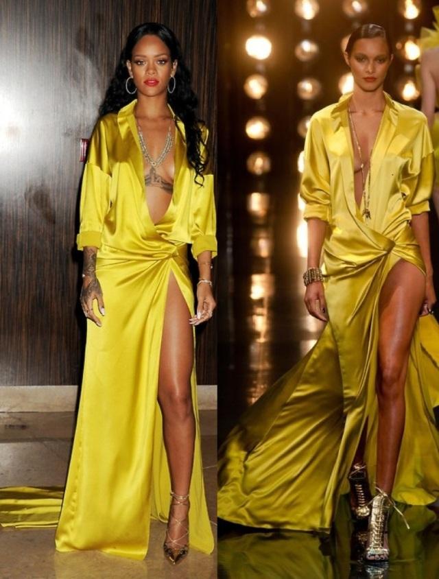 Rihanna vs Model