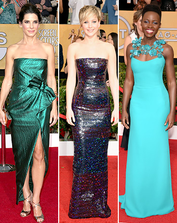 Red Carpet pictures at SAG Awards 2014