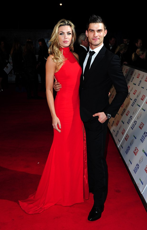 uktv-national-television-awards-2014-abbey-clancy-aljaz-skorjanec