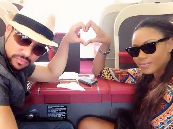 Yvonne Nelson and Majid