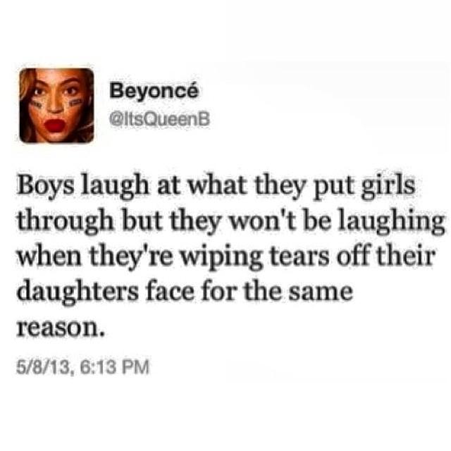 Beyonce....