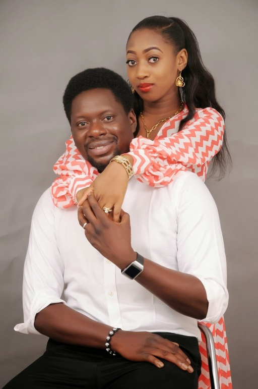 Klint Da Drunk and wife