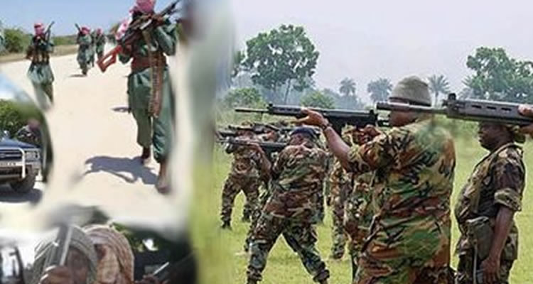 boko haram kill soldiers