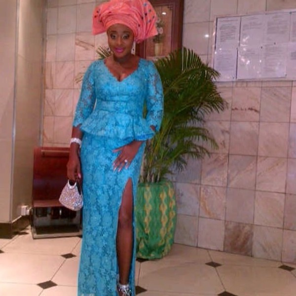 ini edo at the wedding