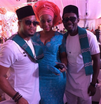 Mike Ezuruonye, AY and wife