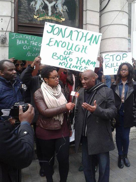 Nigerians In  London