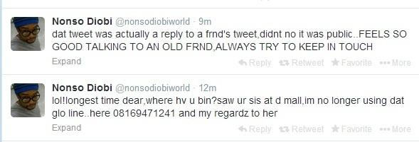 Nonso Diobi tweet