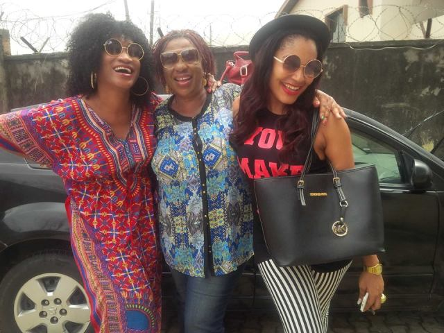 Oge okoye and mum