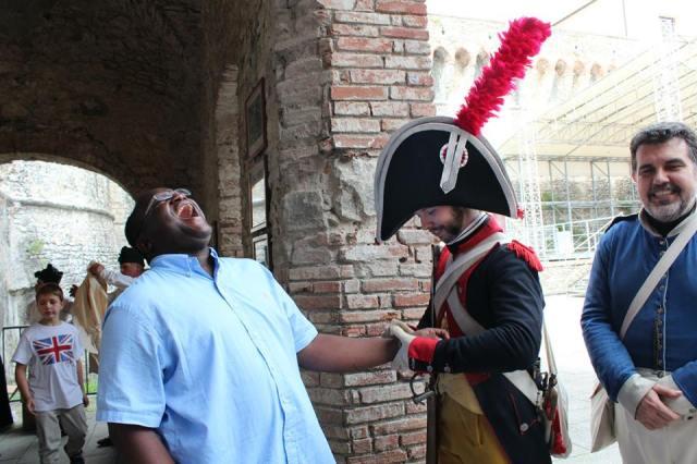Oluchi Getting Arrested...lol