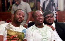Jimmy Jatt, Okey Bakassi and Julius Agwu