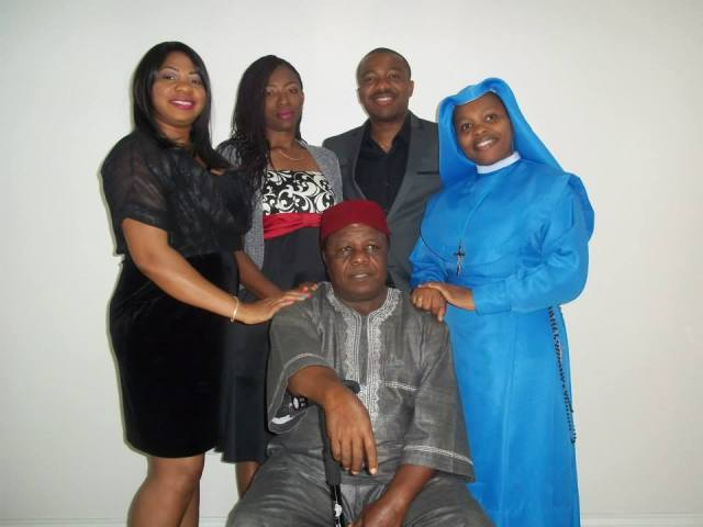 Sister Linda and her lovely family